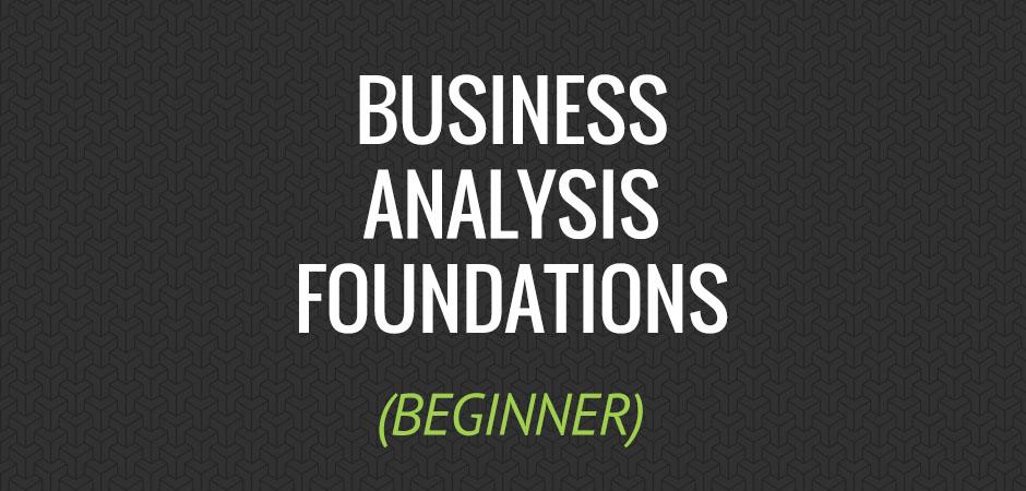Interskill It Training Perth Business Analysis Foundations