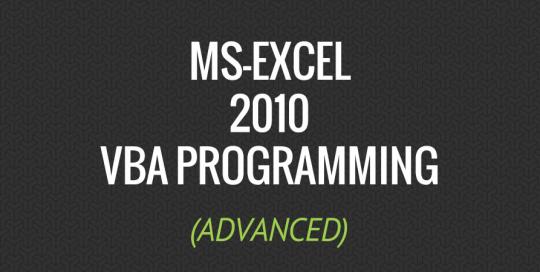 how to start vba in excel 2010